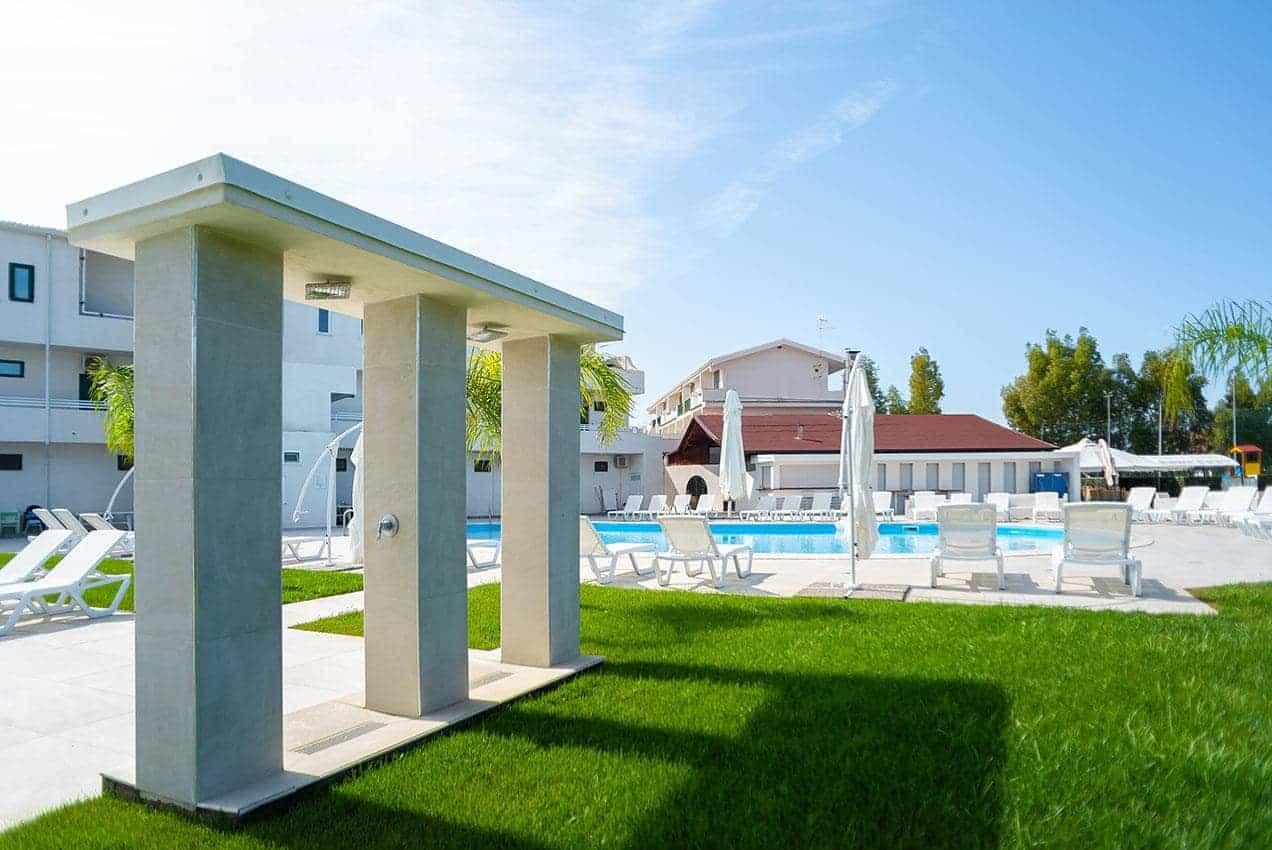 Hotel Residence con piscina a Sibari